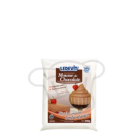 MOUSSE CHOCOLATE LEDEVIT         x250 gr