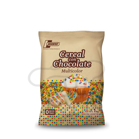 MINI GALLETITA CON CHOC.MULTICOLOR  x 1 kg