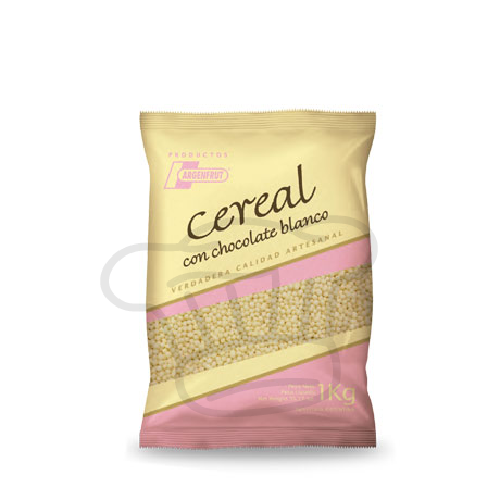 CEREAL CON CHOCOLATE BLANCO (Micro) x 1 kg
