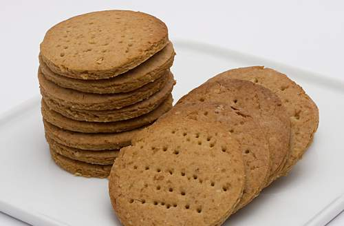 Galletas con salvado de trigo